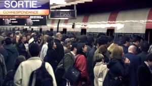 RER B grève