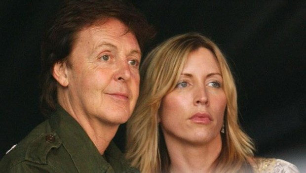 Paul McCartney et Heather Mills McCartney