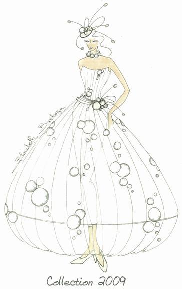 Les 50 ans de Pronuptia : la robe de mariée Noce d'or