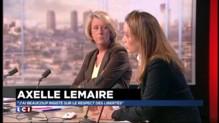 """Axelle Lemaire : """"Qui ne dit rien publiquement n'agit pas moins"""""""