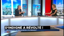 """""""Inscris-toi dans l'Histoire, prends des risques"""", le message d'un comédien au président Hollande"""