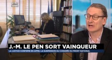 Jean-Marie Le Pen vainqueur, le congrès du FN, suspendu par la justice