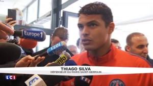 """""""La saison n'est pas finie"""" souligne Thiago Silva après le sacre du PSG"""
