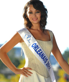 Miss Orleanais 2011 - Audrey Delafoy - Candidate Election Miss France 2012