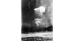 Photo de l'explosion nucléaire à Hiroshima prise du sol et retrouvée en janvier 2013
