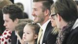 David Beckham et ses enfants font sensation au défilé de Victoria