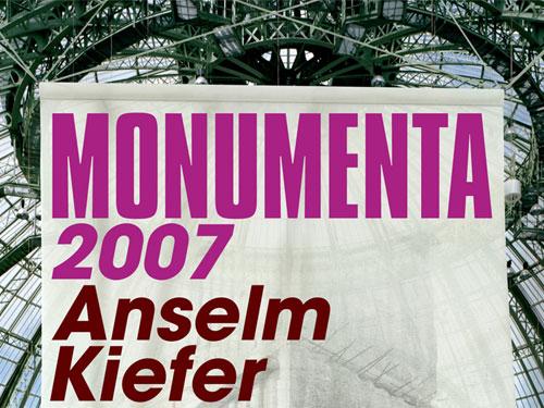 Gagnez 20 laissez-passer pour MONUMENTA 2007 ''Chutes d'étoiles''