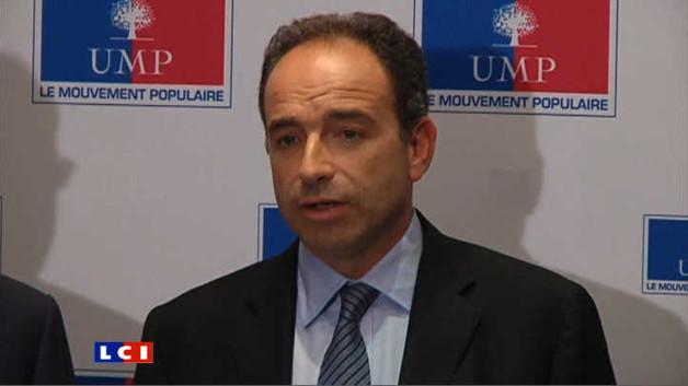Jean-François Copé lors d'un point-presse en novembre 2011 (archives)