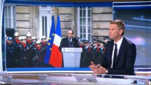 """Le 13 heures du 13 janvier 2015 : Hommage aux policiers assassinés : """"François Hollande a été particulièrement à la hauteur"""" - 414.5489999999999"""
