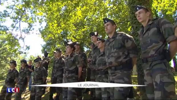 Officialisée par François Hollande, la Garde nationale pourrait compter 201.000 membres