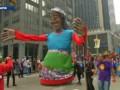 Royal et Fabius parmi les manifestants de la marche pour le climat de New York