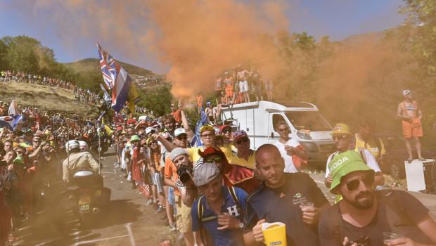 Sur le Tour de France en 2015