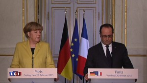 """Hollande : """"La Grèce doit rester dans la zone euro"""""""