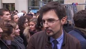 """La Sorbonne silencieuse mais """"pas accablée"""""""