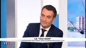Nouveau traité européen: Florian Philippot tacle Nicolas Sarkozy