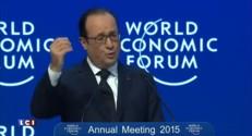 A Davos, François Hollande annonce ses priorités industrielles