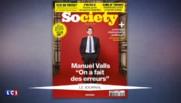 """Bilan du quinquennat de François Hollande : Manuel Valls reconnait des """"erreurs"""""""