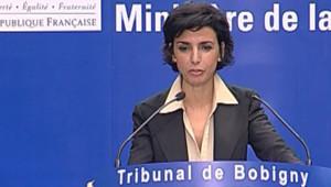 TF1 / LCI Rachida Dati au Tribunal de Bobigny, le 22 juin 2007