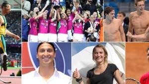 2012 : une année de sport en images