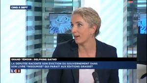 """Batho dénonce le """"grand écart permanent"""" de Hollande"""