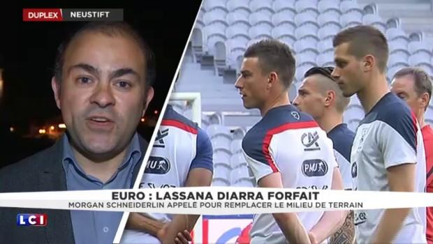 Euro 2016 : Lassana Diarra déclare forfait, Morgan Schneiderlin rappelé