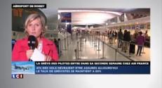 Grève à Air France : le mouvement se durcit, 6 vols sur 10 annulés