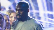 Kanye West à la cérémonie des VMAs le dimanche 30 août 2015