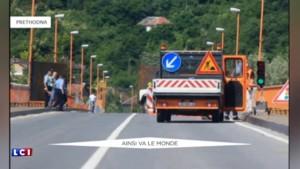 La Croatie installe à sa frontière avec la Serbie un mur de métal pour stopper les migrants