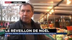 Noël : l'originalité, tendance phare des repas de fête sur le marché d'Aligre