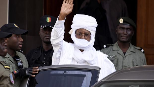 Hissène Habré, le 3/6/15, à Dakar