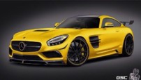 La Mercedes-AMG GT vu par le préparateur German Special Customs.