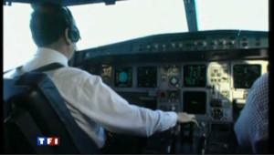 cockpit avion de ligne