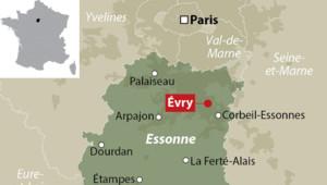 Évry dans l'Essonne