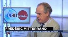 """Frédéric Mitterrand : François Mitterrand """"n'était pas très chaleureux avec mes frères et moi"""""""