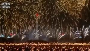 La saisissante parade nocturne de la Corée du Nord