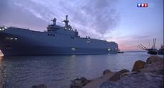 """Le 20 heures du 13 septembre 2014 : Mistral : premi� sortie en mer pour le """"Vladivostok"""" - 720.5410000000002"""