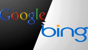 Logos Google et Bing