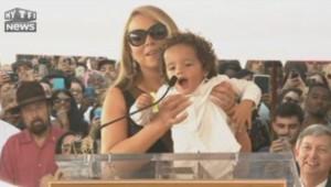 Mariah Carey Hollywood étoile enfants
