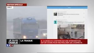 Prise d'otages à Dammartin-en-Goële : les témoins tweetent des photos