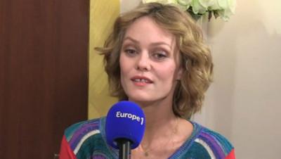 Vanessa Paradis sur Europe 1 le 26 novembre 2014.
