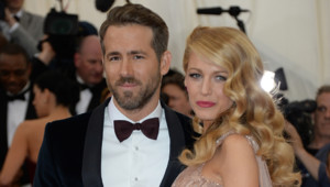 Blake Lively et Ryan Reynolds au gala du Met 2014 à New York