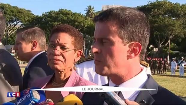 """Manifestation sous haute tension : Valls en appelle """"à la responsabilité de chacun"""""""