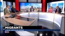"""Migrants: """"Les populations d'Europe ont vraiment peur"""""""