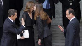 Nicolas Sarkozy quitte l'Elysée, le 15/5/12