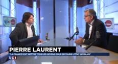 """Pour Pierre Laurent, l'Europe peut """"accueillir quelques dizaines de migrants"""""""