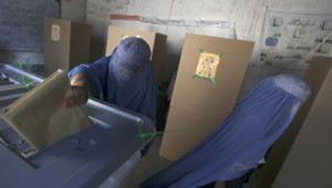 afghanistan vote présidentielle femmes