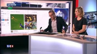 Football : le saut acrobatique de Balotelli détourné sur les réseaux sociaux