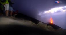Le 20 heures du 21 août 2014 : En randonn�sur le Stromboli - 1670.763