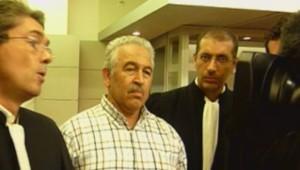 Le bijoutier de Nice qui a abattu un braqueur, à sa sortie du tribunal le 13 septembre 2013.