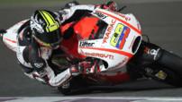 Le Colombien Yonny Hernandez au volant de la Ducati Pramac.